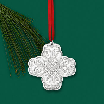 Towle 2019 Annual Sterling Silver Celtic Ornament - 20th Edition, , default