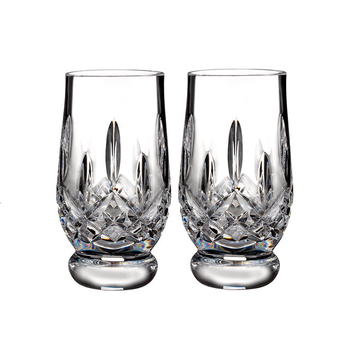 "Waterford Crystal ""Connoisseur"" Set of 2 Lismore Footed Tasting Tumbler Glasses, , default"