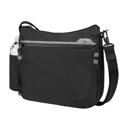 "Travelon ""Anti-Theft Active"" Black Nylon Medium Crossbody"
