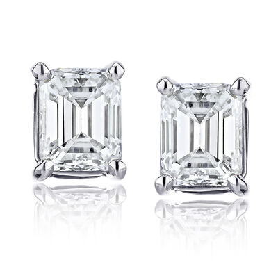.70 ct. t.w. Diamond Stud Earrings in 14kt White Gold
