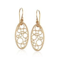 "Roberto Coin ""Bollicine"" 18kt Yellow Gold Drop Earrings, , default"