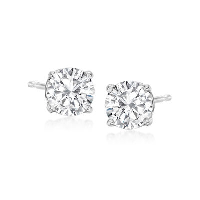 .50 ct. t.w. Diamond Stud Earrings in Platinum