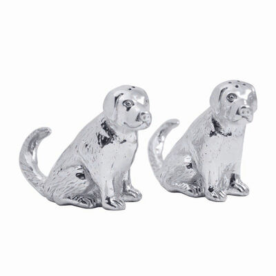 Mariposa Labrador Salt and Pepper Shakers