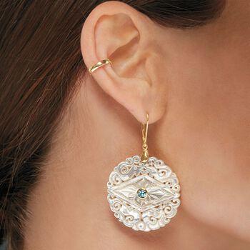 14kt Yellow Gold Single Ear Cuff, , default