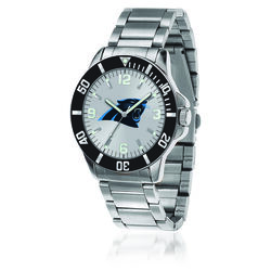 Men's 46mm NFL Carolina Panthers Stainless Steel Key Watch, , default