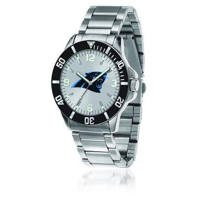 Men's 46mm NFL Carolina Panthers Stainless Steel Key Watch, , default