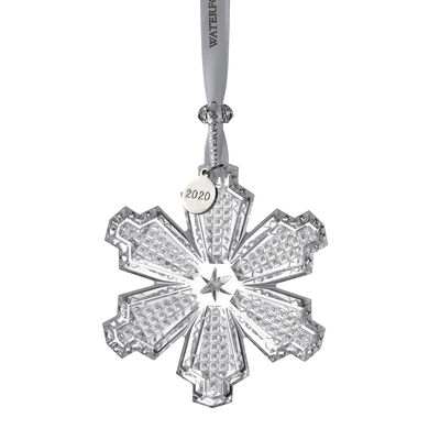 Waterford Crystal Snow Ornament