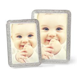 "Swarovski Crystal ""Minera"" Crystal-Studded Picture Frame in Silvertone, , default"