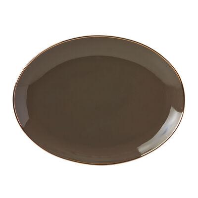 "Lenox ""Trianna Slate"" Porcelain Oval Platter, , default"