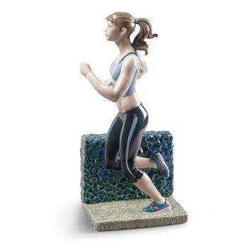"Lladro ""Running"" Porcelain Figurine, , default"