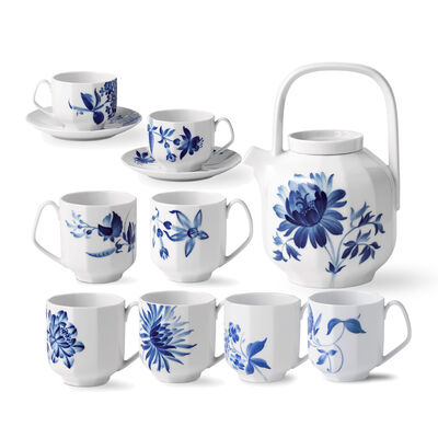 "Royal Copenhagen ""Blomst"" Porcelain Drinkware, , default"
