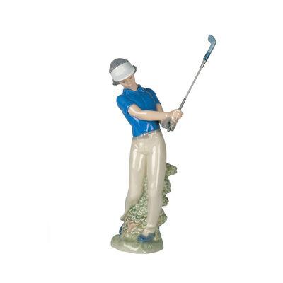 """Nao """"Fore! Junior Golfer"""" Porcelain Figurine, , default"""