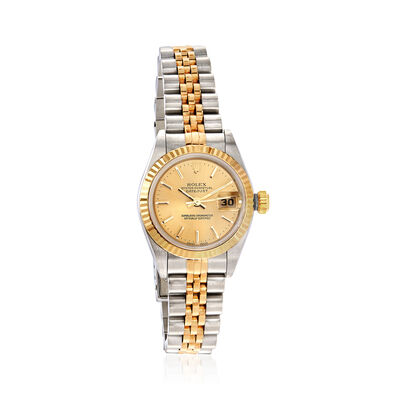 Certified Pre-Owned Rolex Datejust Women's Automatic 26mm Watch in Two-Tone, , default