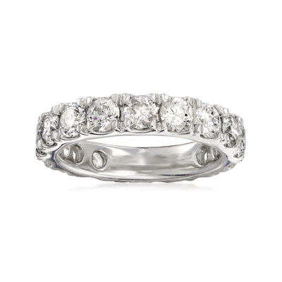 4.00 ct. t.w. Diamond Eternity Band in Platinum