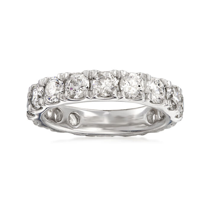 4.00 ct. t.w. Diamond Eternity Band in Platinum. Size 7, , default