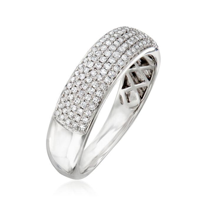 .32 ct. t.w. Diamond Multi-Row Ring in 14kt White Gold