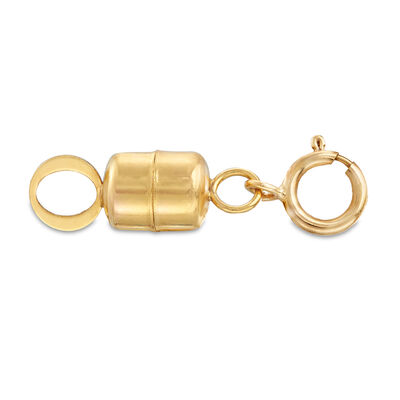 Italian 14kt Yellow Gold Magnetic Clasp Converter, , default