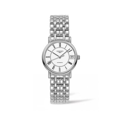 Longines Presence Women's 30mm Automatic Stainless Steel Watch, , default
