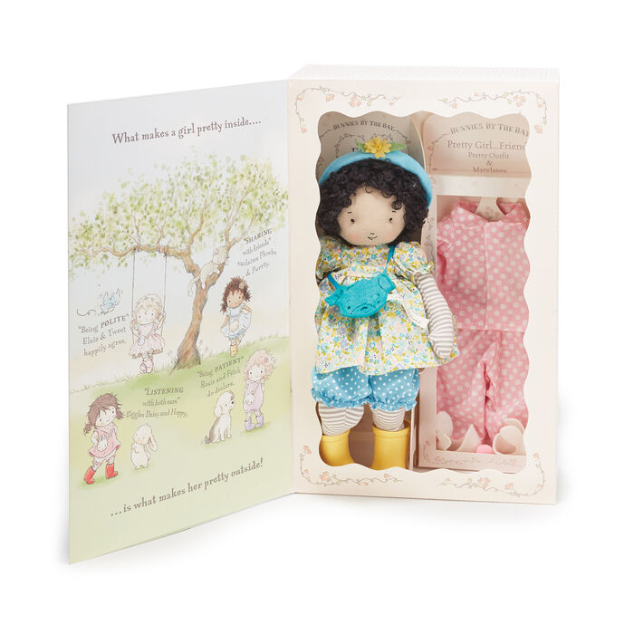 Bunnies by the Bay Phoebe Plush Doll Gift Set, , default