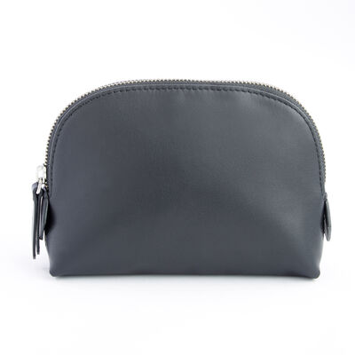 Royce Black Leather Cosmetic Case, , default