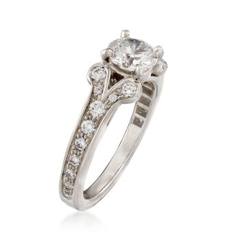 C. 2015 Cartier 1.05 ct. t.w. Certified Diamond Ring in Platinum. Size 4