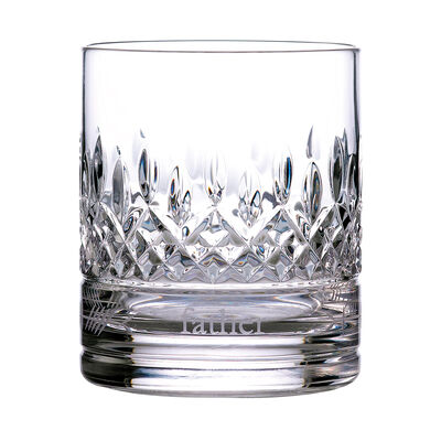 """Waterford Crystal """"Gift Bar"""" Lismore Ogham Father Tumbler"""