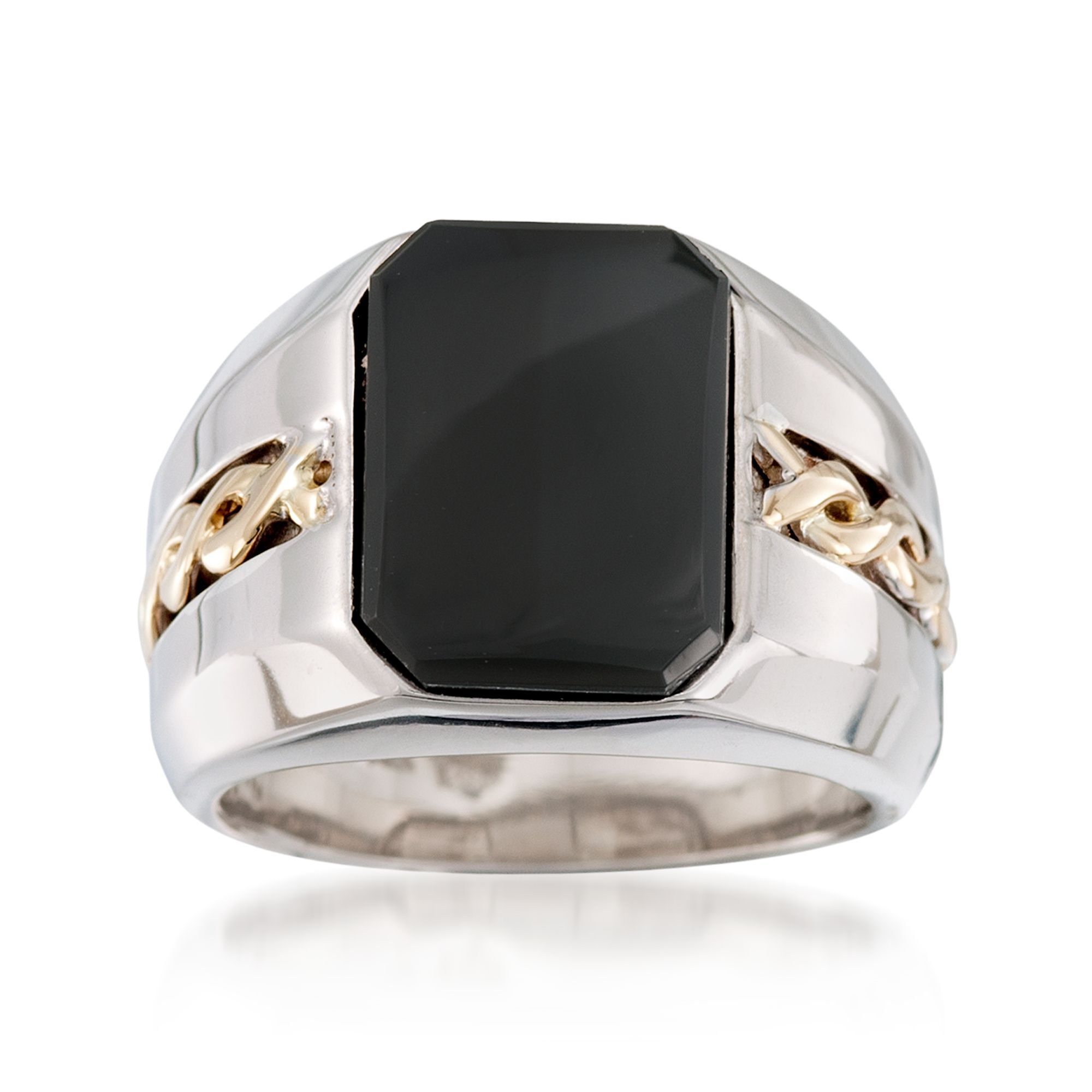 Pictures of black onyx rings