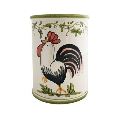 """Abbiamo Tutto Italian """"Gallo-Rooster"""" Ceramic Wine Bottle/Kitchen Utensil Holder, , default"""