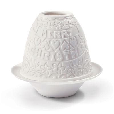 """Lladro """"Christmas"""" Porcelain Light Votive, , default"""