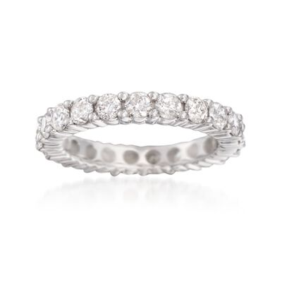 2.50 ct. t.w. Diamond Eternity Band in 14kt White Gold, , default