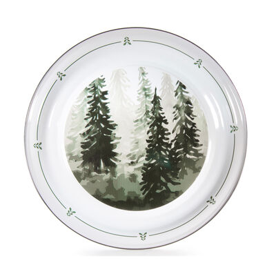 "Golden Rabbit ""Forest Trees"" Medium Tray, , default"