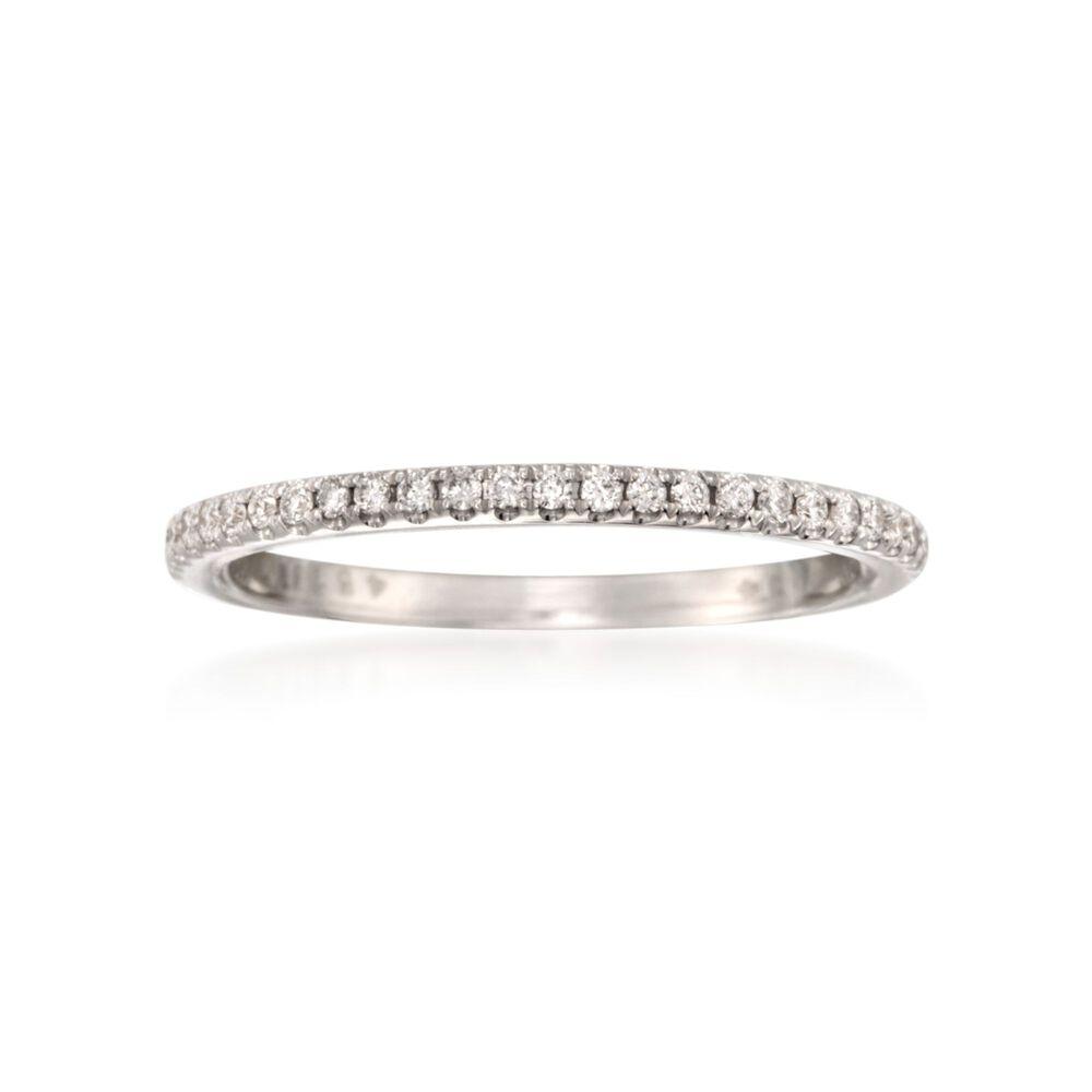 simon g 14 ct t w diamond wedding ring in 18kt white gold ross