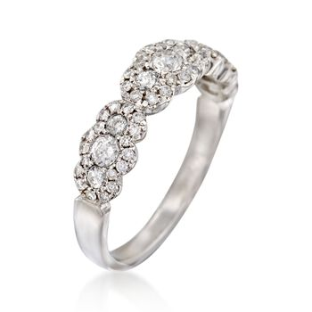 .77 ct. t.w. Diamond Ring in 14kt White Gold