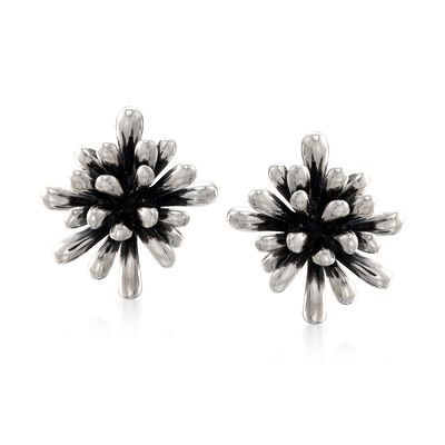 "Zina Sterling Silver ""Fireworks"" Clip-On Earrings, , default"