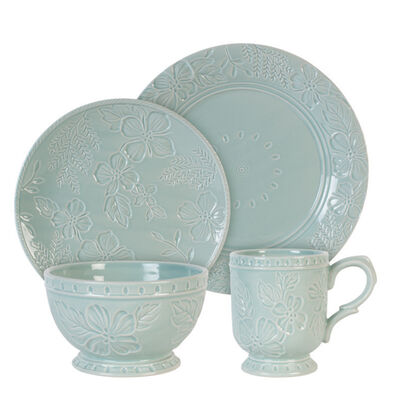 """Fitz and Floyd """"English Garden"""" 16-pc. Service for 4 Dinnerware Set"""