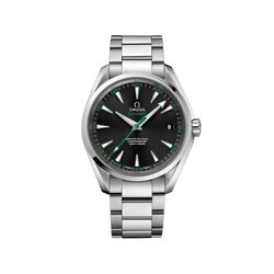 Omega Seamaster Aqua Terra Golf Men's 41.5mm Stainless Steel Watch With Black and Green Dial , , default