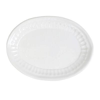 "Vietri ""Pietra Serena"" Small Oval Platter from Italy"