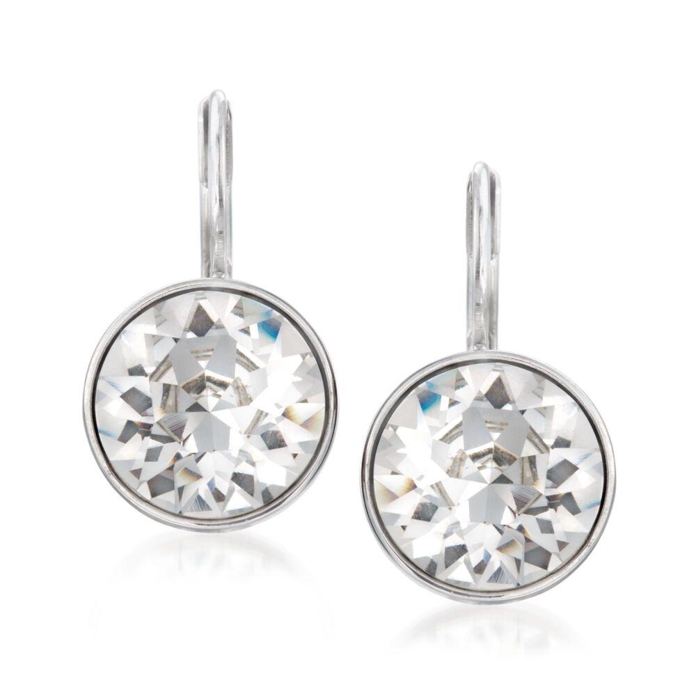 "c04c8d989ed Swarovski Crystal ""Bella Mini"" Drop Earrings in Silvertone, ,  default"