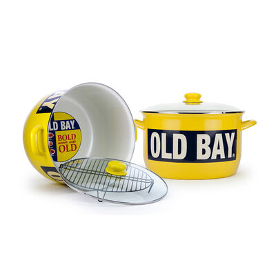 "Golden Rabbit ""Old Bay"" 18 qt. Stock Pot, , default"