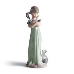 "Lladro ""Don't Forget Me"" Porcelain Figurine, , default"