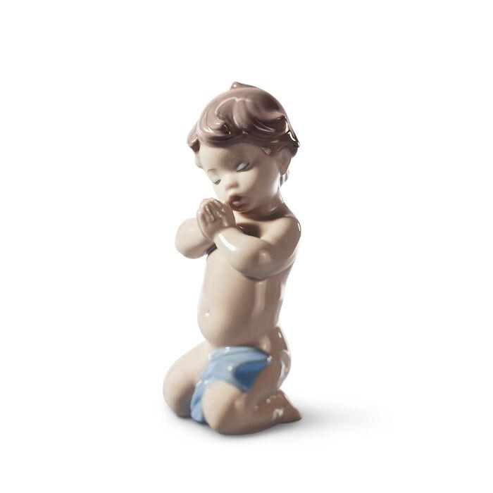 "Lladro ""A Child's Prayer"" Porcelain Figurine, , default"