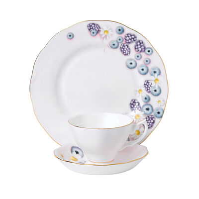 "Royal Albert ""Alpha Foodie"" 3-Piece Tea Set in Pink, , default"