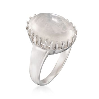 Moonstone Ring in Sterling Silver, , default