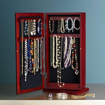 """Safekeeper"" Spinning Jewelry Organizer, , default"