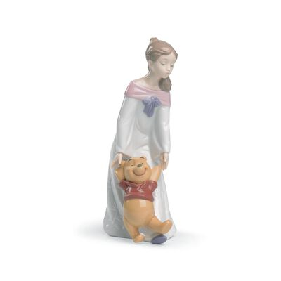 "Nao ""Fun with Winnie the Pooh"" Porcelain Figurine, , default"