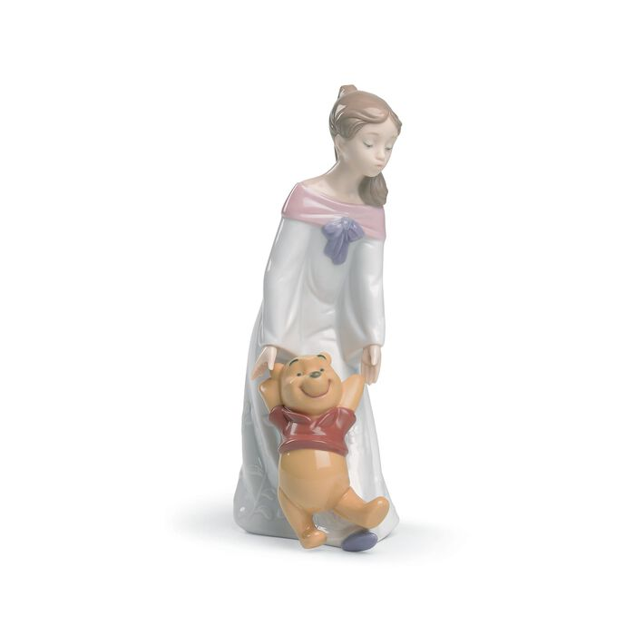 "Nao ""Fun with Winnie the Pooh"" Porcelain Figurine , , default"
