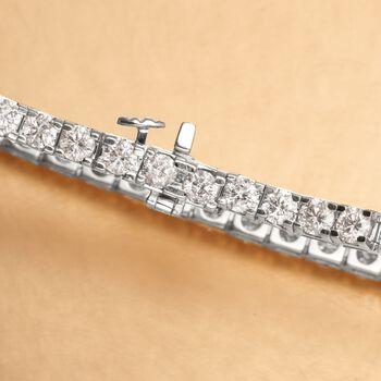 "8.00 ct. t.w. Diamond Tennis Bracelet in 14kt White Gold. 8"", , default"