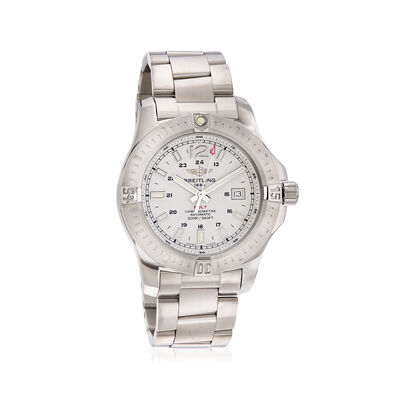 Breitling Colt Automatic Silver 44m Men's Watch in Stainless Steel, , default