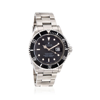 Pre-Owned Rolex Submariner Men's 40mm Automatic Watch in Stainless Steel, , default