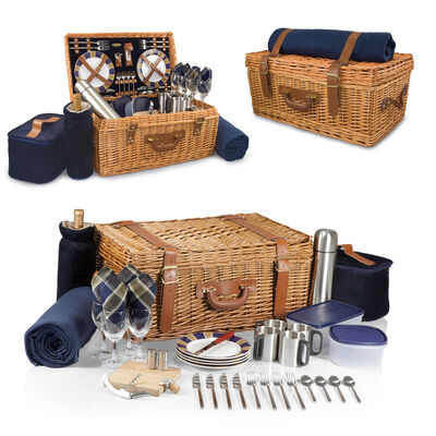 """Windsor"" Service for 4 Picnic Basket Set"